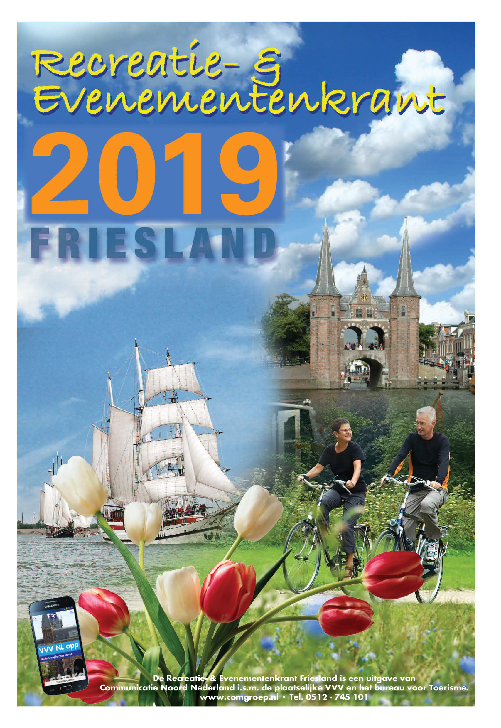 Recreatiekrant Friesland 2019